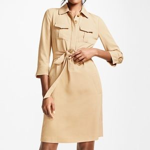 Brooks Brothers Twill Shirtdress